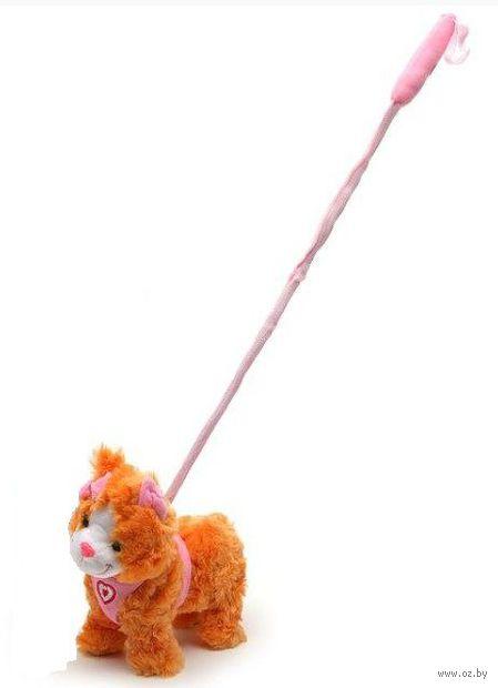 """Мягкая игрушка """"Кошка Ириска"""" (со звуковыми эффектами)"""