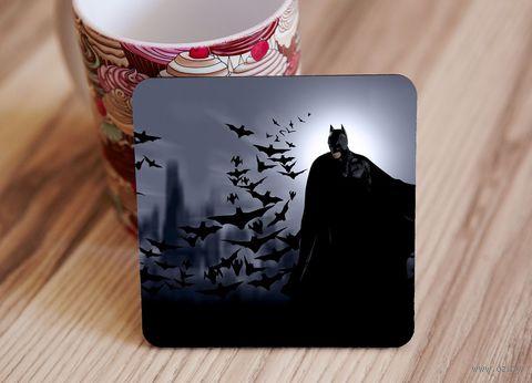 "Подставка под кружку ""Бэтмэн"" (арт. 4) — фото, картинка"