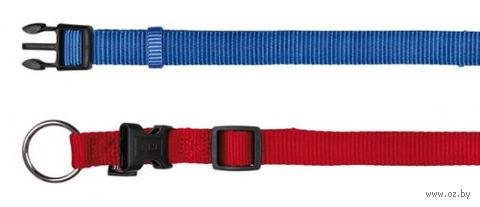 """Ошейник нейлоновый для собак """"Premium Collar"""" (размер L-XL; 40-65 см; красный)"""
