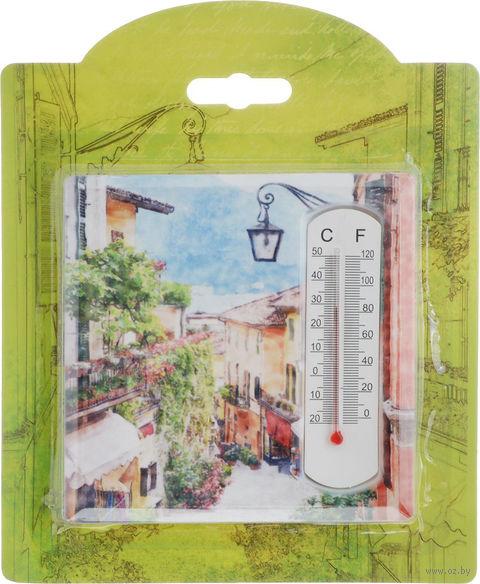 """Термометр """"Домики"""" (арт. 43410) — фото, картинка"""