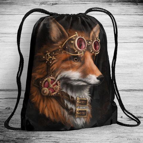 """Рюкзак-мешок """"Лиса"""" (арт. 9) — фото, картинка"""