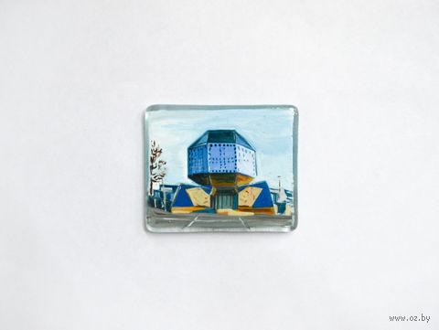 "Магнит на холодильник ""Библиотека"" (арт. МС-1) — фото, картинка"