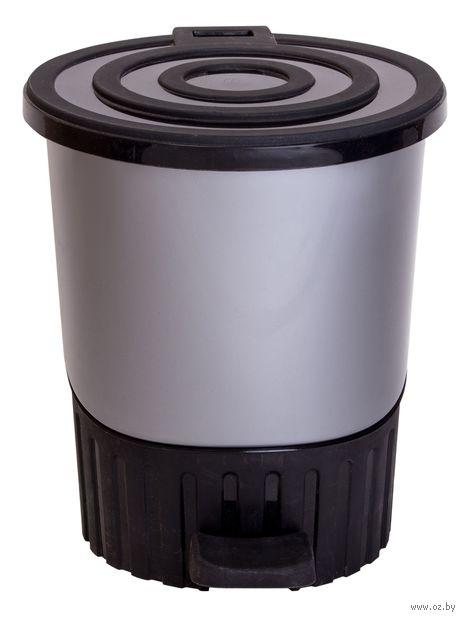 Ведро для мусора с педалью (8 л) — фото, картинка