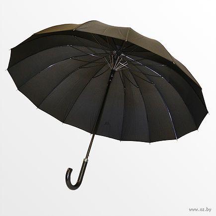 Зонт-трость (черный; арт. L80) — фото, картинка