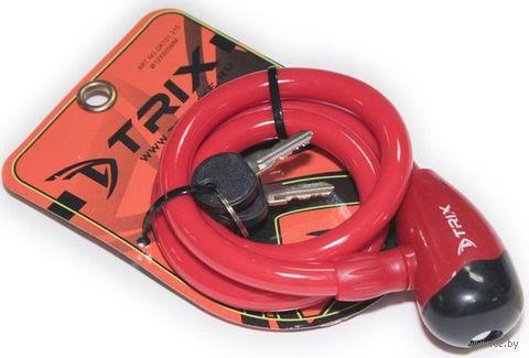 """Велозамок на ключ """"GK101.315"""" (80 см; красный) — фото, картинка"""