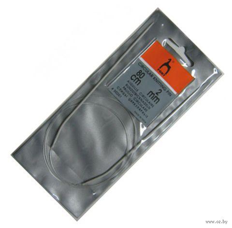 Крючок для вязания циркулярный (металл; 2 мм) — фото, картинка
