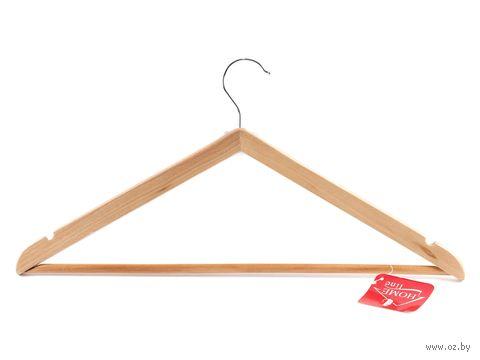Вешалка для одежды деревянная (450 мм) — фото, картинка