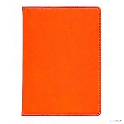 "Обложка для паспорта Time/System ""Skiver"" (orange)"