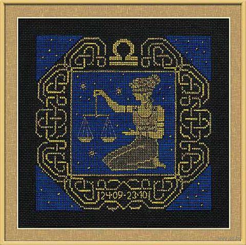 """Вышивка крестом """"Весы"""" (арт. 1207)"""