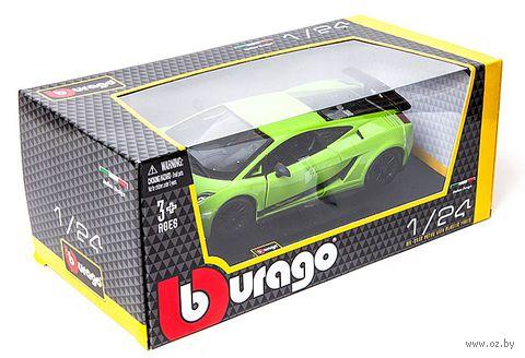 "Модель машины ""Bburago. Lamborghini Gallardo Superleggera"" (масштаб: 1/24) — фото, картинка"