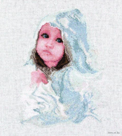 "Вышивка крестом ""Под дождем"" (190х250 мм) — фото, картинка"