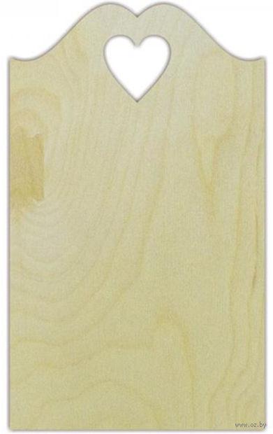 """Заготовка деревянная """"Доска декоративная №13"""" (150х250 мм) — фото, картинка"""