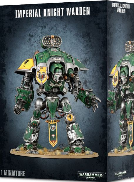Warhammer 40.000. Imperial Knight. Warden (54-12) — фото, картинка