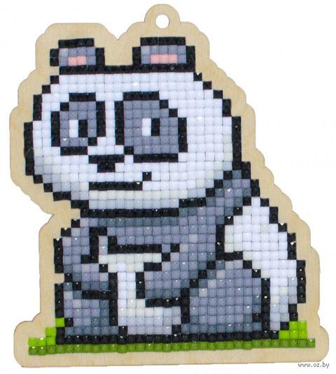 """Алмазная вышивка-мозаика """"Брелок. Панда Чакки"""" (88х100 мм) — фото, картинка"""