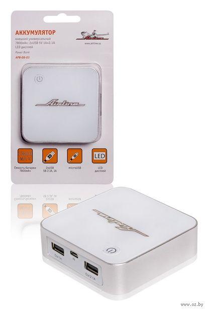 Портативное зарядное устройство (7800 мАч; арт. APB-08-03) — фото, картинка