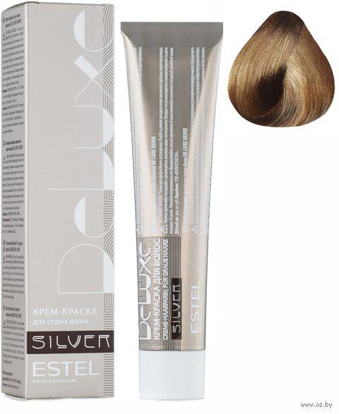 """Крем-краска для волос """"Sense De Luxe Silver"""" тон: 8/31, светло-русый золотисто-пепельный — фото, картинка"""