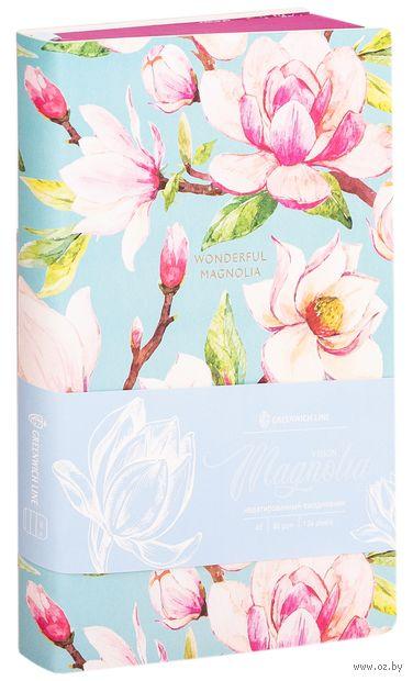 """Ежедневник недатированный """"Magnolia"""" (A5) — фото, картинка"""