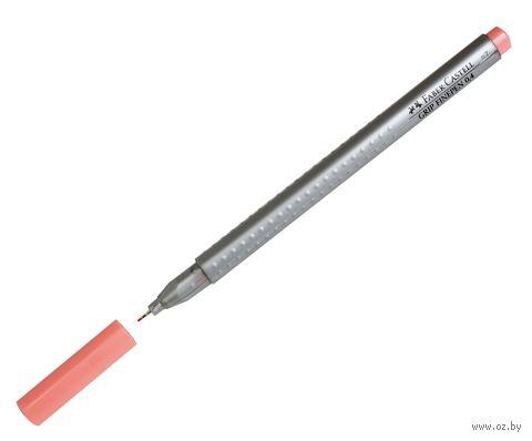 """Ручка капиллярная """"Grip Finepen"""" (0,4 мм; темно-телесная) — фото, картинка"""