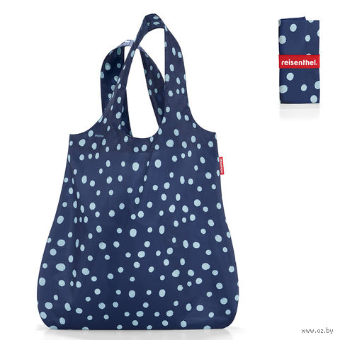 "Сумка складная ""Mini maxi shopper"" (spots navy)"