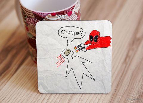 "Подставка под кружку ""Deadpool"" (art. 4)"