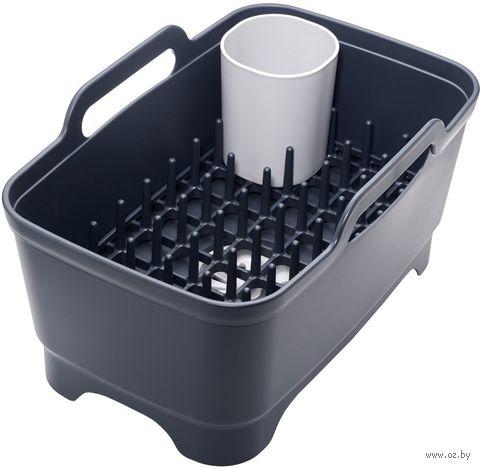 Набор для мытья и сушки посуды (серый) — фото, картинка