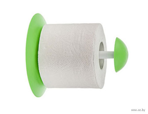 """Держатель для туалетной бумаги """"Aqua"""" (салатный) — фото, картинка"""