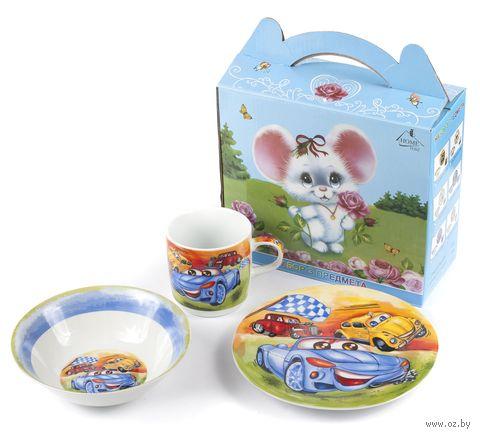 Набор для завтрака (3 предмета; арт. LX-3PCS-C360) — фото, картинка