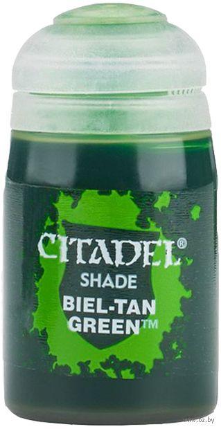 """Краска акриловая """"Citadel Shade"""" (biel-tan green; 24 мл) — фото, картинка"""