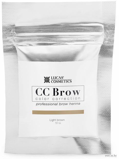 "Хна для бровей ""CC Brow. Big. Саше"" тон: light brown — фото, картинка"