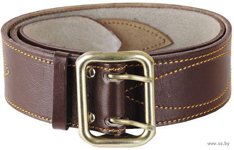 Ремень кожаный (105 см; коричневый) — фото, картинка