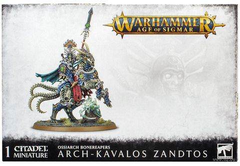 Warhammer Age of Sigmar. Ossiarch Bonereapers. Arch-Kavalos Zandtos (94-30) — фото, картинка
