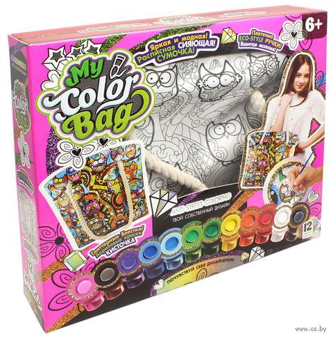 """Набор для росписи сумки """"My Color Bag. Совы"""" — фото, картинка"""