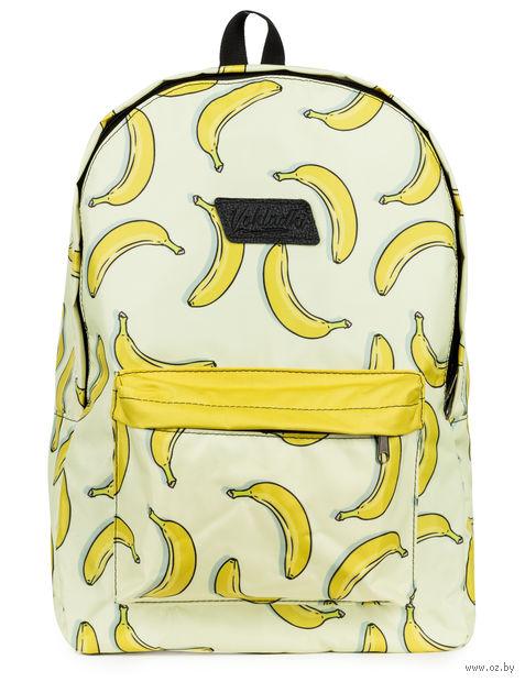"""Рюкзак """"Бананы"""" (15 л; желтый) — фото, картинка"""