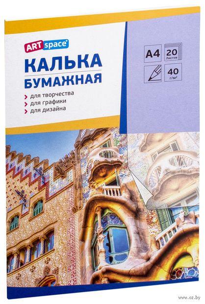 Калька в папке (А4; 20 листов) — фото, картинка