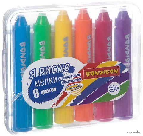"""Мелки цветные """"Я рисую"""" (6 цветов) — фото, картинка"""