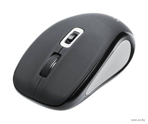 Беспроводная оптическая мышь OKLICK 425MW (Black/Grey) — фото, картинка