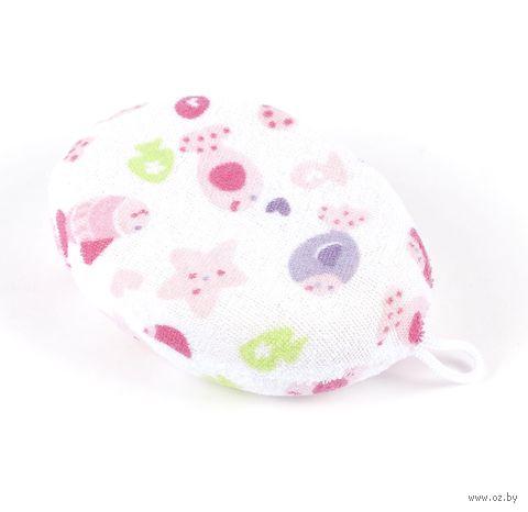 Мочалка детская (10х13,5х4 см; арт. JM-311)
