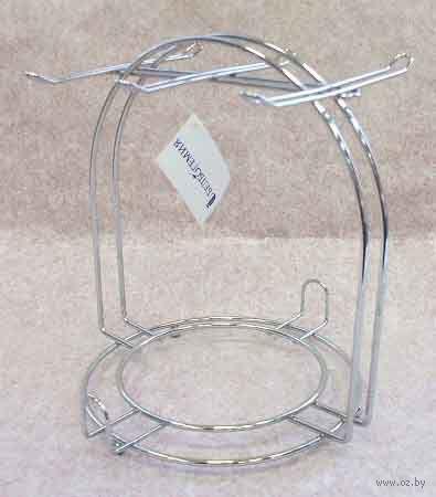Подставка-вешалка для чашек металлическая (на 6 шт.; 180х195х200 мм)