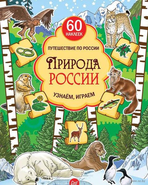 Природа России. Узнаем, играем (+ многоразовые наклейки) — фото, картинка