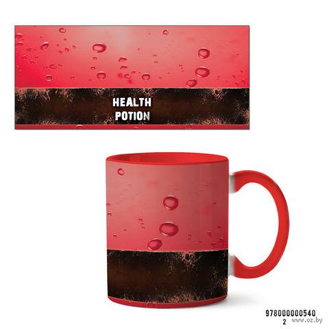 "Кружка ""Health potion"" (красная; арт. 540) — фото, картинка"