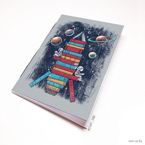 """Блокнот """"Ракета из книг"""" (А5; арт. 986) — фото, картинка"""