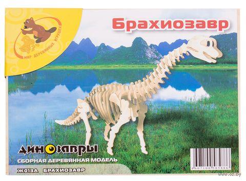 """Сборная деревянная модель """"Брахиозавр"""" — фото, картинка"""