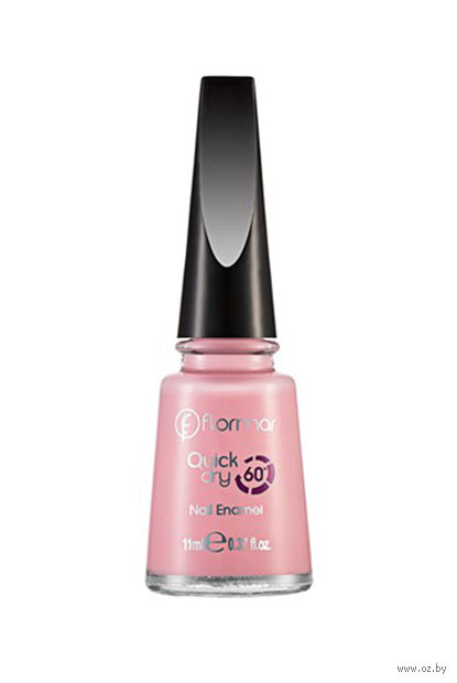 "Лак для ногтей ""Quick Dry Nail Enamel"" (тон: 02, soft pink) — фото, картинка"