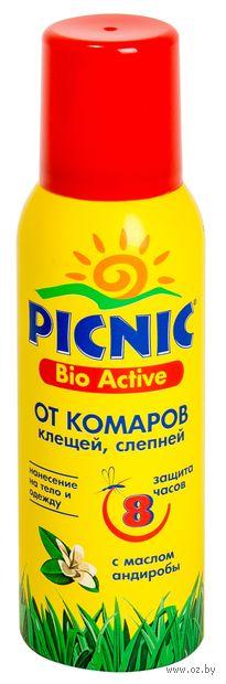 """Аэрозоль от комаров и клещей """"Bio Activ"""" (125 мл) — фото, картинка"""