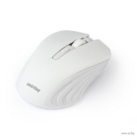 Мышь беспроводная Smartbuy ONE 340AG (белая) — фото, картинка