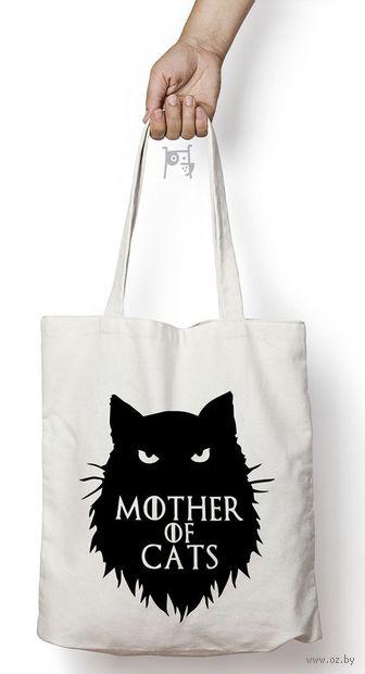 """Сумка-шоппер """"Мать котов"""" — фото, картинка"""