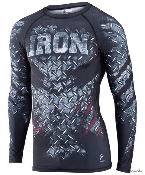 """Рашгард для MMA """"Iron"""" (XL) — фото, картинка"""