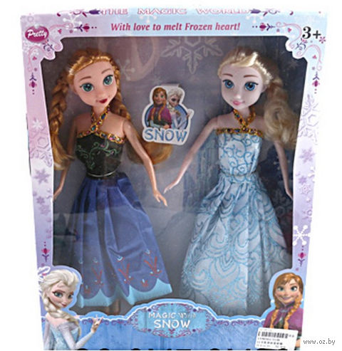 """Набор кукол """"Холодное сердце. Анна и Эльза"""""""