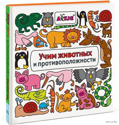 Учим животных и противоположности — фото, картинка