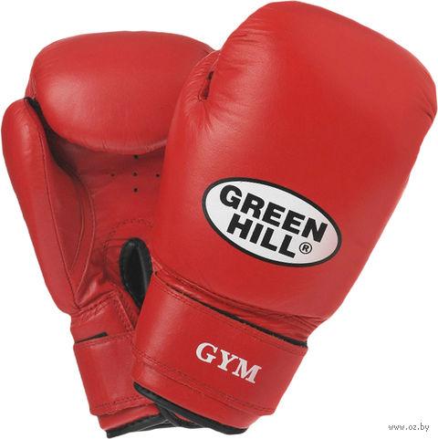 Перчатки боксёрские GYM BGG-2018 (12 унций; красные) — фото, картинка